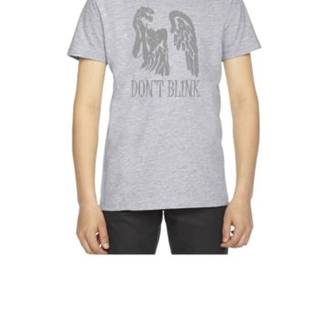 don't blink doctor who - Youth T-shirt