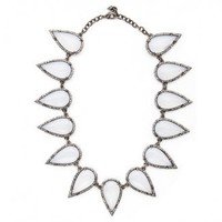 Smashed Talon Necklace Resin- Moonstone | Catalog Products | Shop | Made Her Think ? New York City Jewelry and Accessories