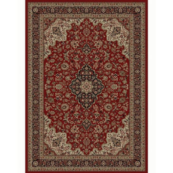 Concord Oriental Classics Medallion Red Rug | Wayfair