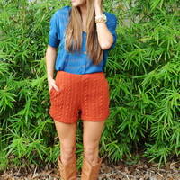 The Simple Life Top: Blue | Hope's