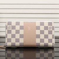 LV Women Leather Fashion Print Wallet Purse