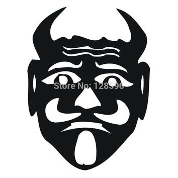 Monster Face Vinyl Sticker Decal Car window Truck Bumper Fine Art Cafe Laptop Boat AUTO Wall Graphic Decor Style Marvel Comics