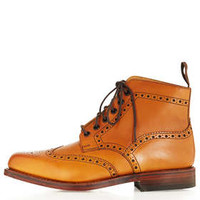 Traditional Brogue Boot by LOAKE for Topshop - Boots  - Shoes