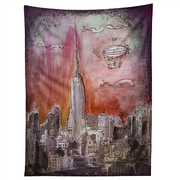 Deniz Ercelebi Float Over The City Tapestry