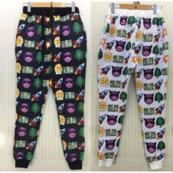 Emoji Tree/Rockets Joggers