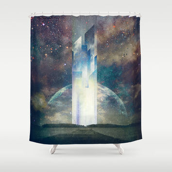 It´s your fault Shower Curtain by HappyMelvin