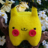 Pokemon Pikachu Plush -- Tiny, Cute Baby Pikachu