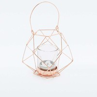 Copper Hexagon Candle Holder - Urban Outfitters