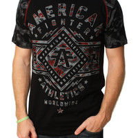 American Fighter Men's Santa Clara Camo Reflective Graphic T-Shirt