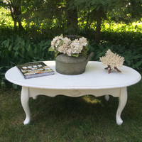 French Shabby Coffee Table