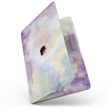 Purple 97 Absorbed Watercolor Texture - MacBook Pro without Touch Bar Skin Kit