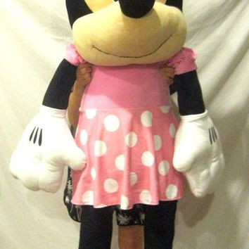 """Disney Minnie Mouse 63"""" Plush Cuddle Pillow Doll Toy-Licensed-New with Tags!!!"""