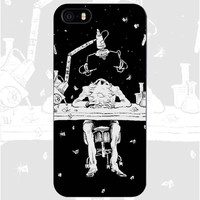 Rick and Morty Black Phone Case
