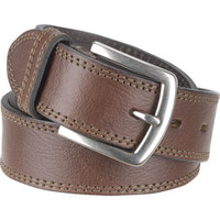 Men's Wilsons Leather Double Saddle Stitch Leather Belt