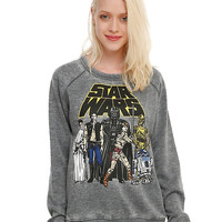 Star Wars Group Girls Pullover Top