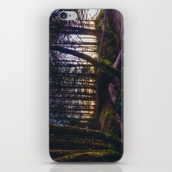 Wooded Tofino iPhone & iPod Skin by Mixed Imagery