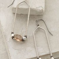 Hedron Hoops by Anthropologie Carbon One Size Jewelry