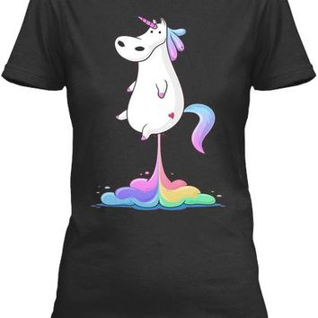 Unicorn Fart T Shirt Unicorn Animal Far