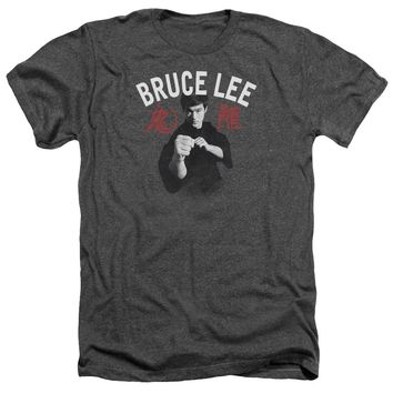 Bruce Lee - Ready Adult Heather