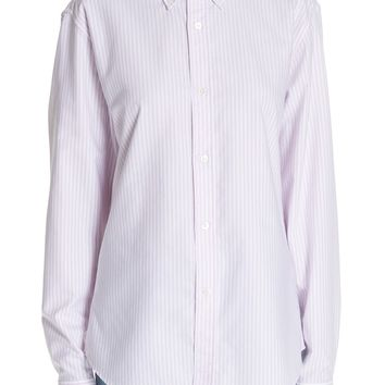 ACNE Studios Ohio Stripe Button Down Shirt | Nordstrom