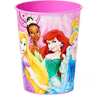 Disney Princess 16 oz Plastic Party Cup, Party Supplies