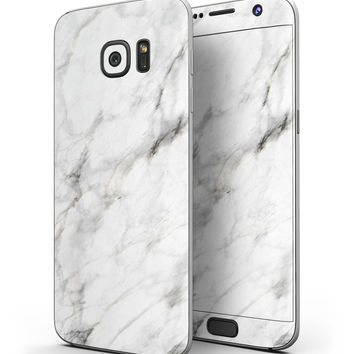 Slate Marble Surface V5 - Full Body Skin-Kit for the Samsung Galaxy S7 or S7 Edge