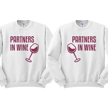 Partners In Wine Duo Sweatshirt