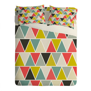 Heather Dutton Triangulum Sheet Set Lightweight