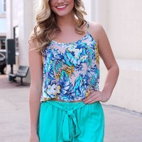 Summer Escapades Crop Top