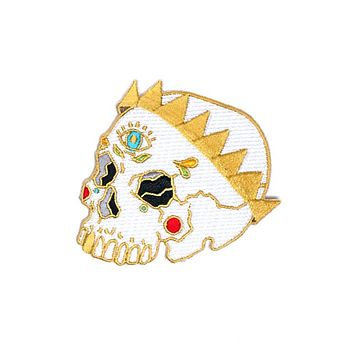 Skull Crown Patch
