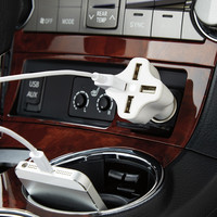 4-Port USB Car Charger