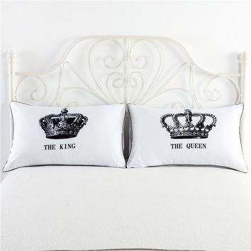 Couples Pillowcases 2 Pcs/set