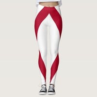 Leggings with flag of Alabama, USA