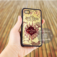 Marauder's Map Harry Potter case for iPhone 5,5s,5c,4,4s,6,6+/iPod 4th 5th/Samsung Galaxy S3,S4,S5/Note 2,3/HTC One/LG Nexus