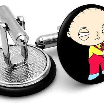 Stewie Family Guy Cufflinks