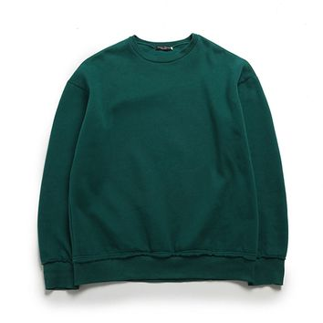 The Perfect Oversized Pullover | Green
