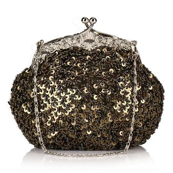 Wedding Bridal Evening Stunning Clutch Purse
