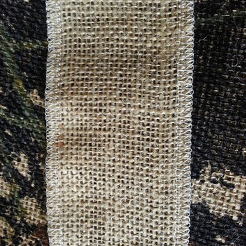 """Choose your Burlap Ribbon size . We offer 3"""" and 6"""" by three yards and many other custom options!"""