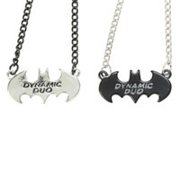 DC Comics Batman Dynamic Duo Best Friends Necklace Set