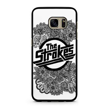The Strokes Zentangle Logo Samsung Galaxy S7 Case