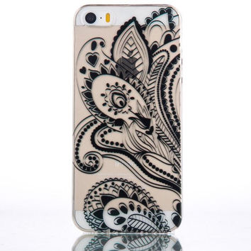New Lace Style Bandanna iPhone 5s 6 6s Plus Case Cover Free Gift Box