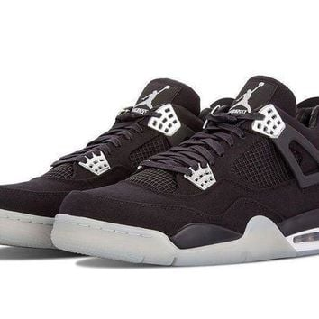 Air Jordan 4 Retro AJ4 Brown Demin Men's Sneaker US8-13