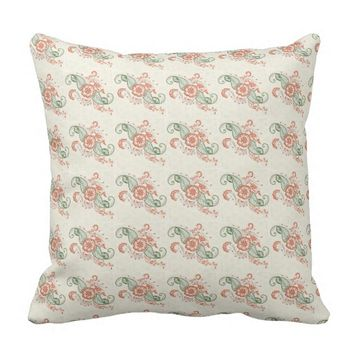 Indian ethnic design all over throw pillow