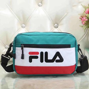 Fila Women Fashion Leather Satchel Bag Shoulder Bag Crossbody-3