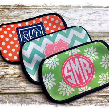 Personalized MakeUp Bags Bridesmaids Gifts by rrpage on Etsy