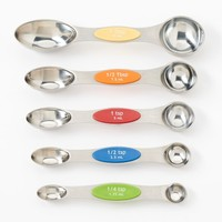 Food Network™ 5-pc. Magnetic Measuring Spoon Set