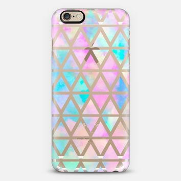 New standard Pastel Aztec watercolor iPhone 6s case by Marta Olga Klara | Casetify