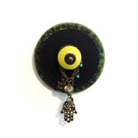 Jewelry Wall Holder Accessory Necklace Bracelet Display Organizer Hanger Home Decor Green Black Christmas Stocking Stuffer Gifts for Her