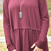 Everything You Know Long Sleeve Top