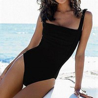 Padded Monokini Swimsuit Bathing Swimming Costume Swimwear
